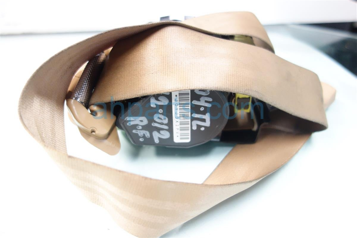 2004 Acura TL Front passenger SEAT BELT TAN 04814 SEP A00Z 04814SEPA00Z Replacement