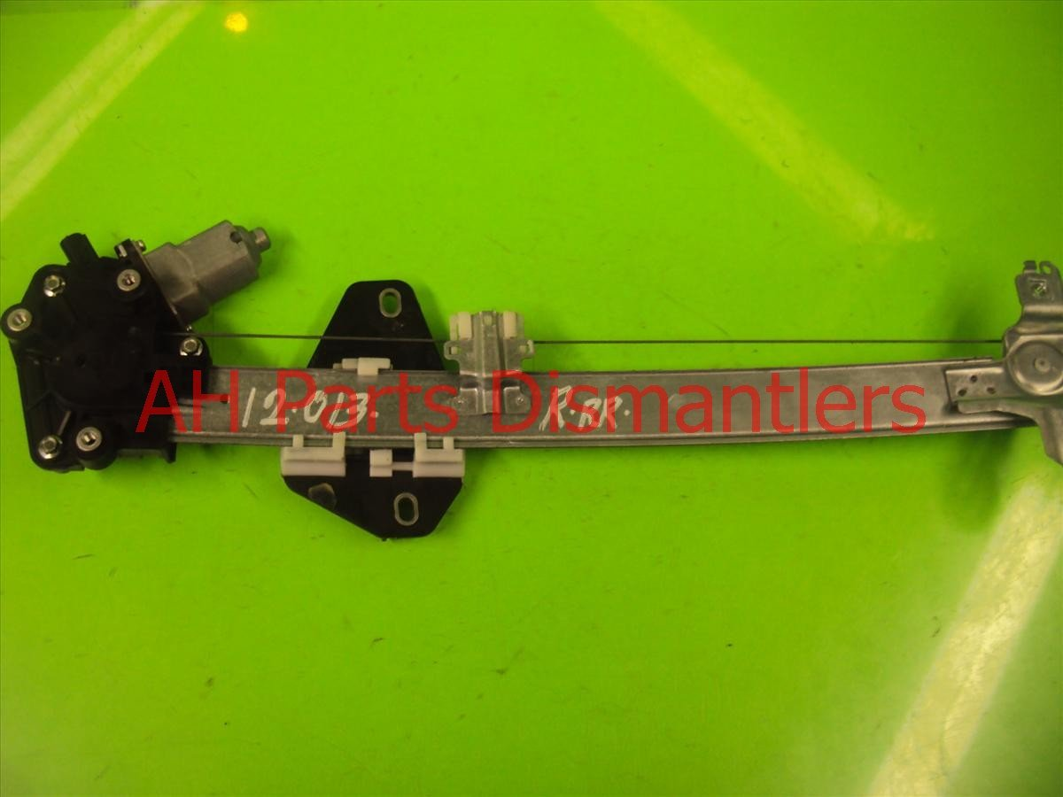 2008 Honda Accord 4DR Rear passenger POWER WINDOW REGULATOR 72710 TA0 A01 72710TA0A01 Replacement