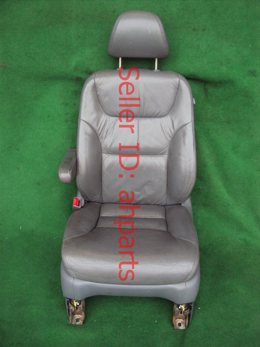 2005 Honda Odyssey Seat Front driver LEATHER GRAY SRS SOLD SEP GOOD 04815 SHJ A41ZC 04815SHJA41ZC Replacement