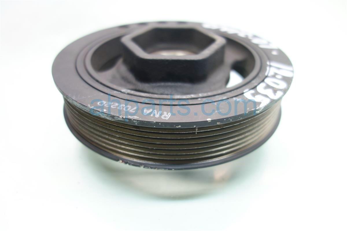 2007 Honda Civic Harmonic Crank shaft pulley HARM BALANCER 13810 RNA A02 13810RNAA02 Replacement