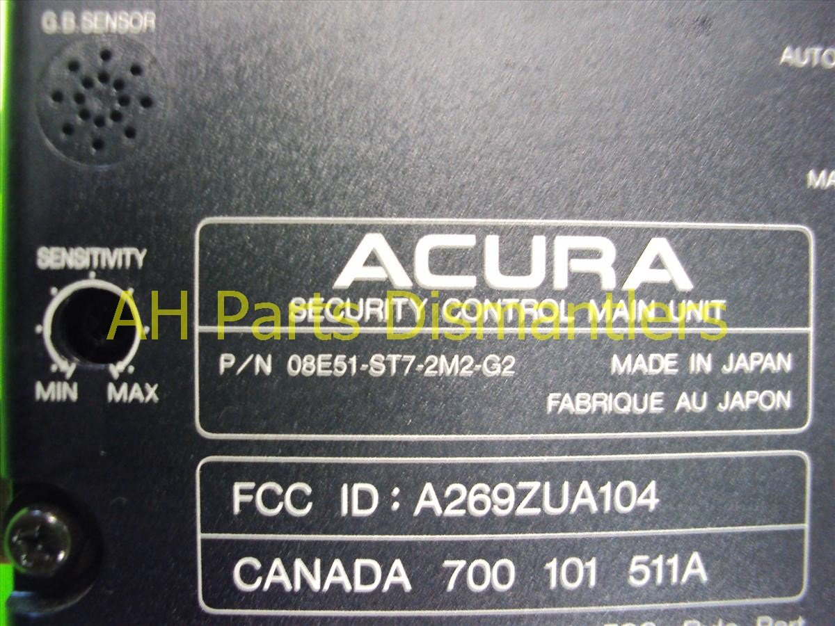 2000 Acura Integra Security Control Main 08E51 ST7 2M2 Replacement