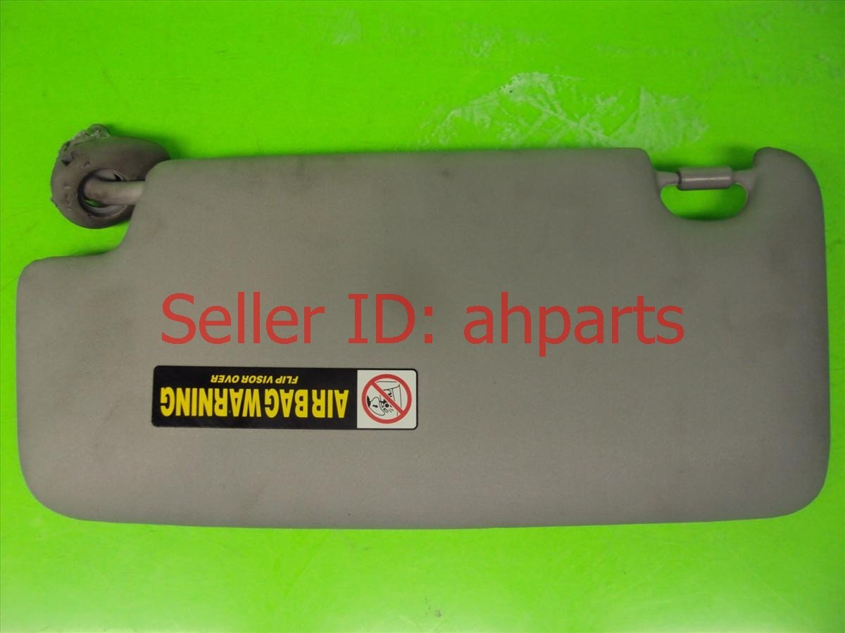 2010 Honda FIT Sun Passenger Visor,gray Nice 83230 TK6 A01ZA Replacement