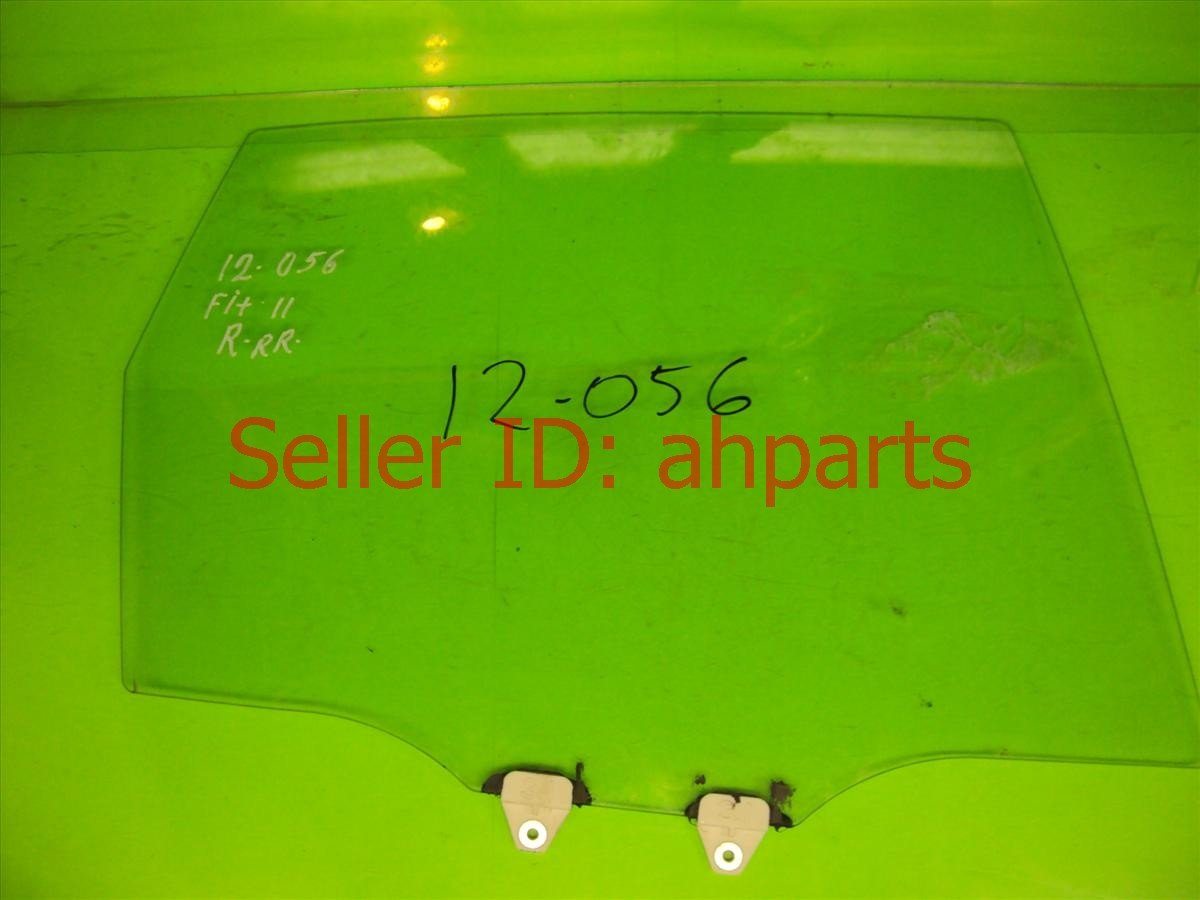 2010 Honda FIT Window 4DR Rear passenger DOOR GLASS 73400 TF0 G00 73400TF0G00 Replacement