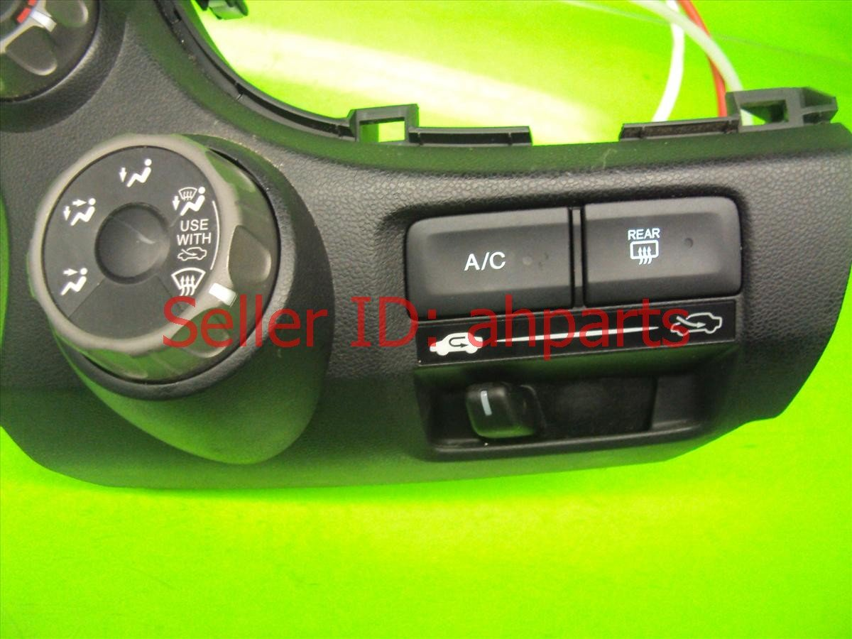 2010 Honda FIT Temperature Climate AC heater control TEMP CONT Replacement