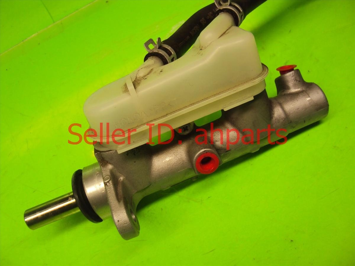 2010 Honda FIT BRAKE MASTER CYLINDER Replacement