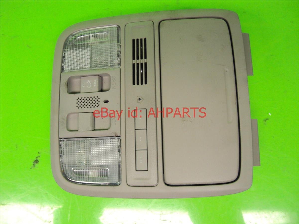 2012 Acura TSX MAP LIGHT TAN W HOMELINK NAVI 36650 TL2 A11ZB 36650TL2A11ZB Replacement