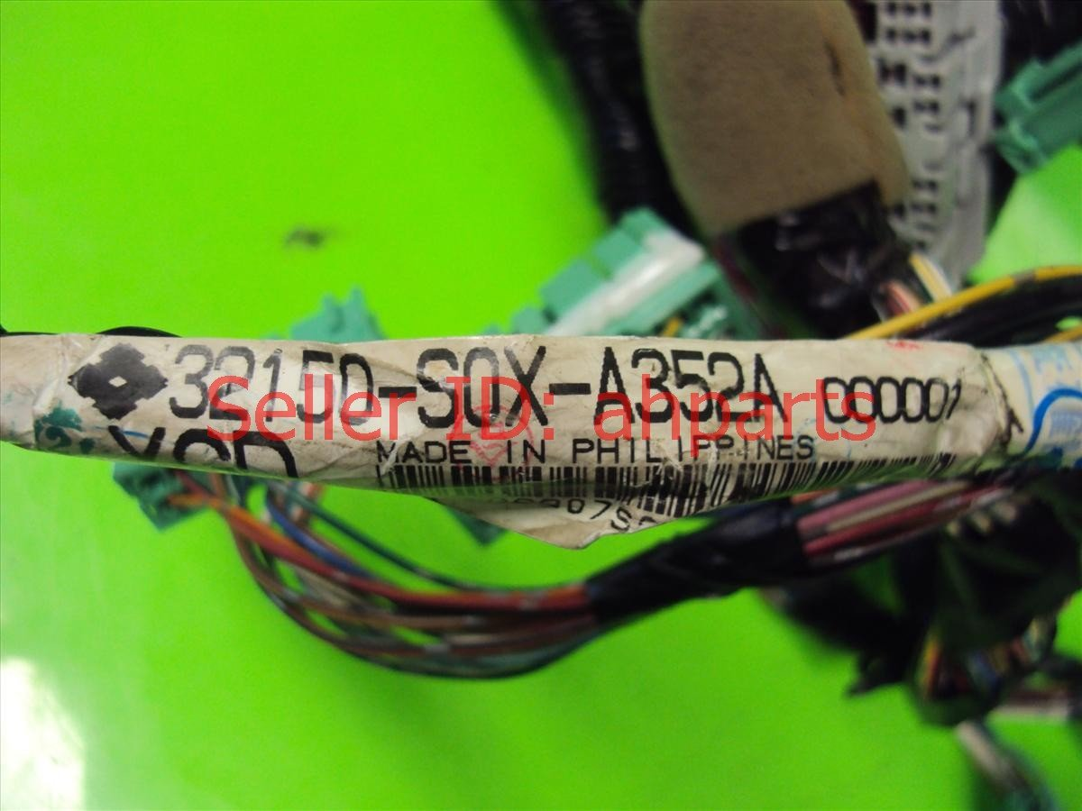 2004 Honda Odyssey Lower Dash Harness 32150 S0X A35 Replacement
