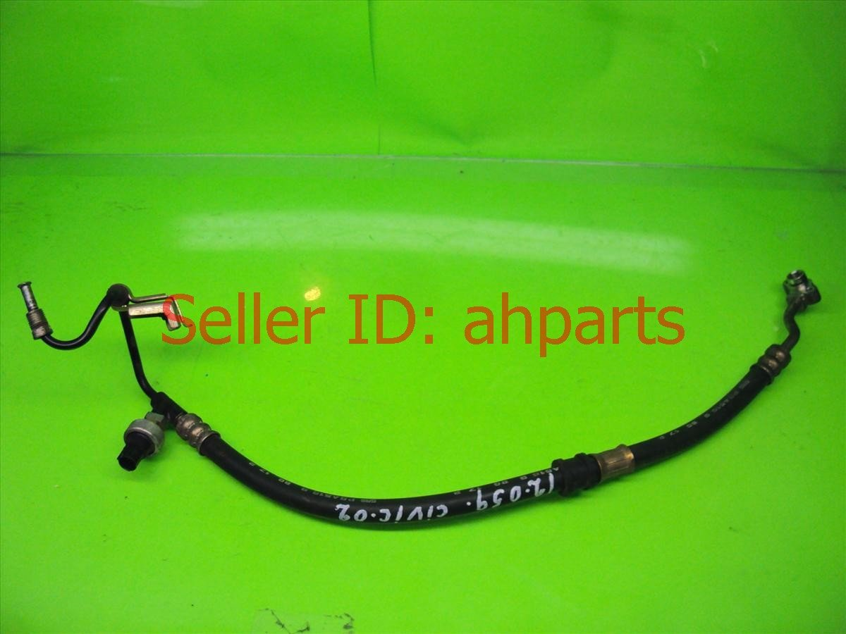 2002 Honda Civic Power steering high line P S PRESSURE HOSE 53713 S5P A02 53713S5PA02 Replacement