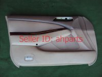 2003 Acura TL Door trim liner Front driver DR PANEL CMPLET tan type S note 83583 S0K A40ZA 83583S0KA40ZA Replacement