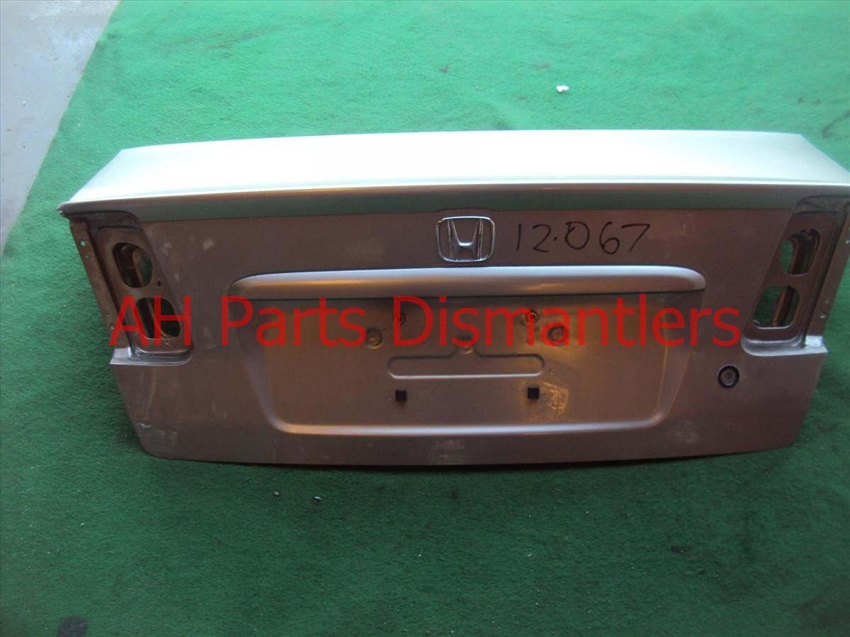 2004 Honda Civic Trunk DECK LID Gold with spoiler 68500 S5B A90ZZ 68500S5BA90ZZ Replacement