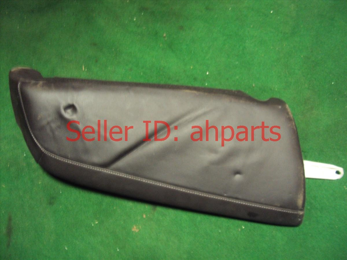 2012 Acura TSX Rear 2nd row BACK SEAT ASSY BLK LEATHER 82132 TL0 G01 82132TL0G01 Replacement