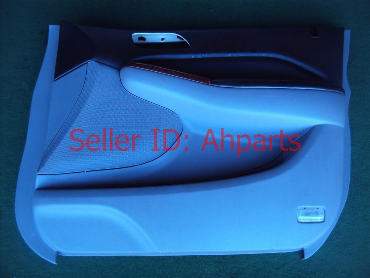 2004 Acura MDX Trim Liner Front Passenger Inside Door Panel Gray/black 83533 S3V A12ZB Replacement