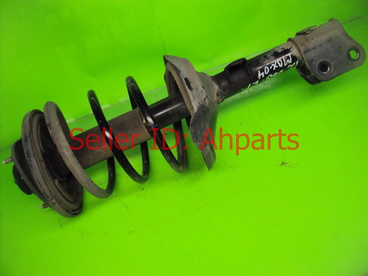 2004 Acura MDX Front Driver Strut N Spring Replacement