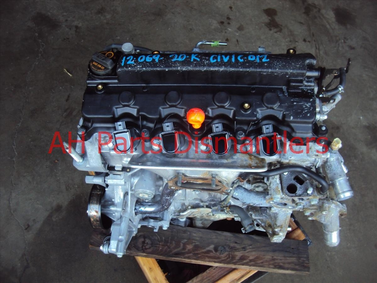 2012 Honda Civic Motor ENGINE 1 8L BATTERY ACID STAINS Replacement