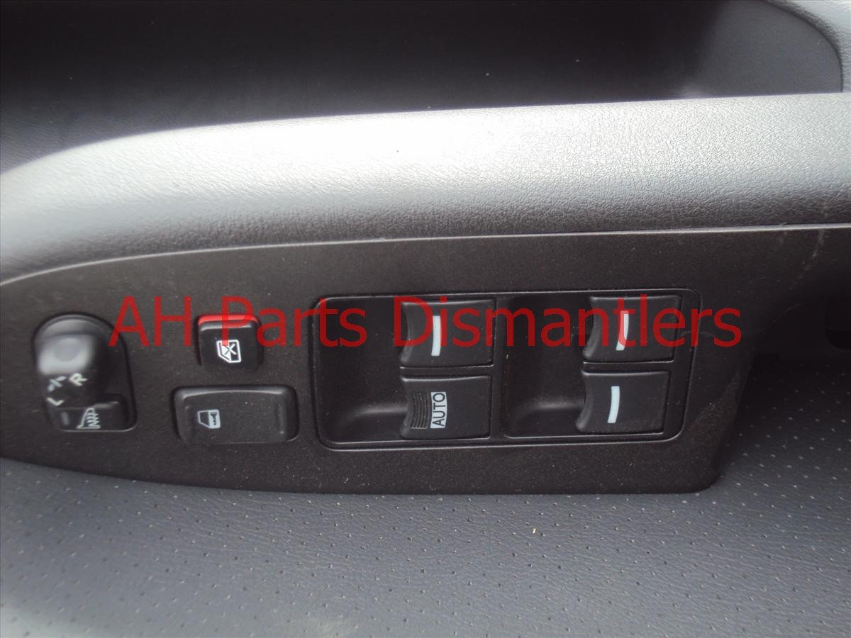 2008 Acura TSX Door trim liner Front driver DR PANEL CMPL SWITCH nice blk 83558 SEC A11ZA 83558SECA11ZA Replacement
