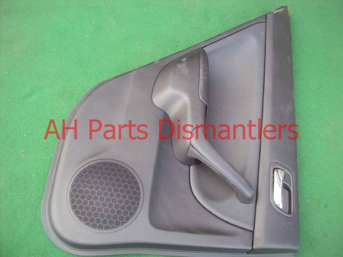 2008 Acura TSX Trim liner REAR Driver DOOR PANEL blk 83754 SEC A01ZB 83754SECA01ZB Replacement