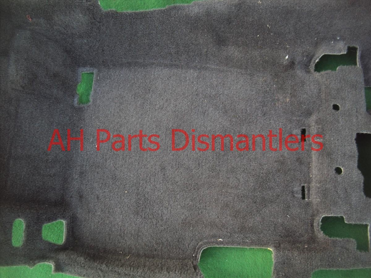2008 Acura TSX Front ground FLOOR CARPEt blk 83301 SEC A02ZB 83301SECA02ZB Replacement