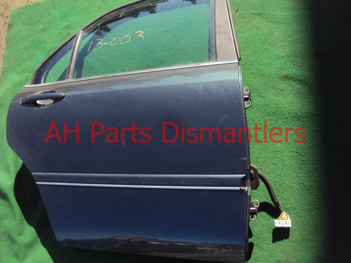 1996 Acura RL 4dr Rear Passenger Door,shell 67510 SZ3 030ZZ Replacement