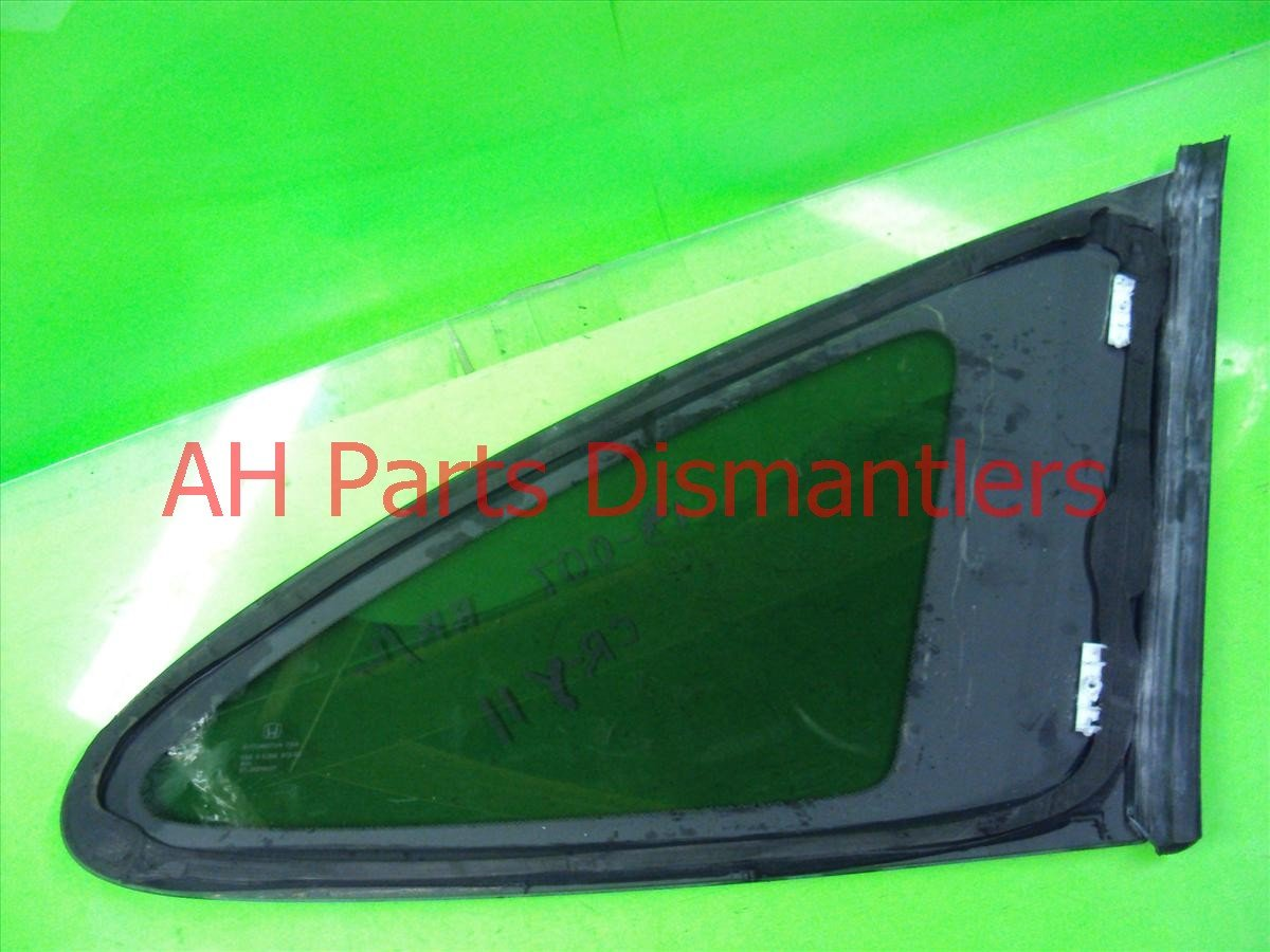 2011 Honda CR V Quarter Window Driver Qtr Glass W/ Tint 73561 SXS A01 Replacement