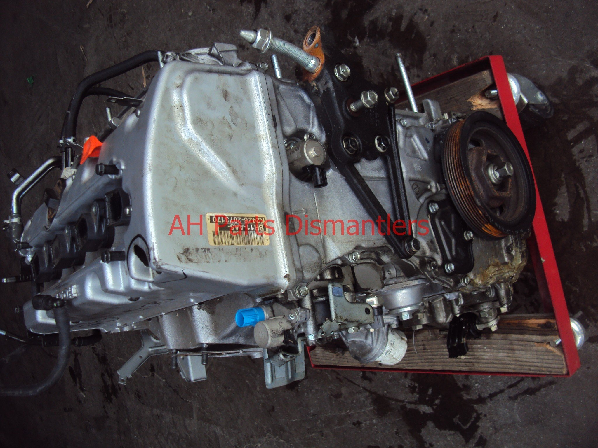 2011 Honda CR V Motor ENGINE MILES 26k WARRANTY 6mo N 10002 R11 A02 10002R11A02 Replacement
