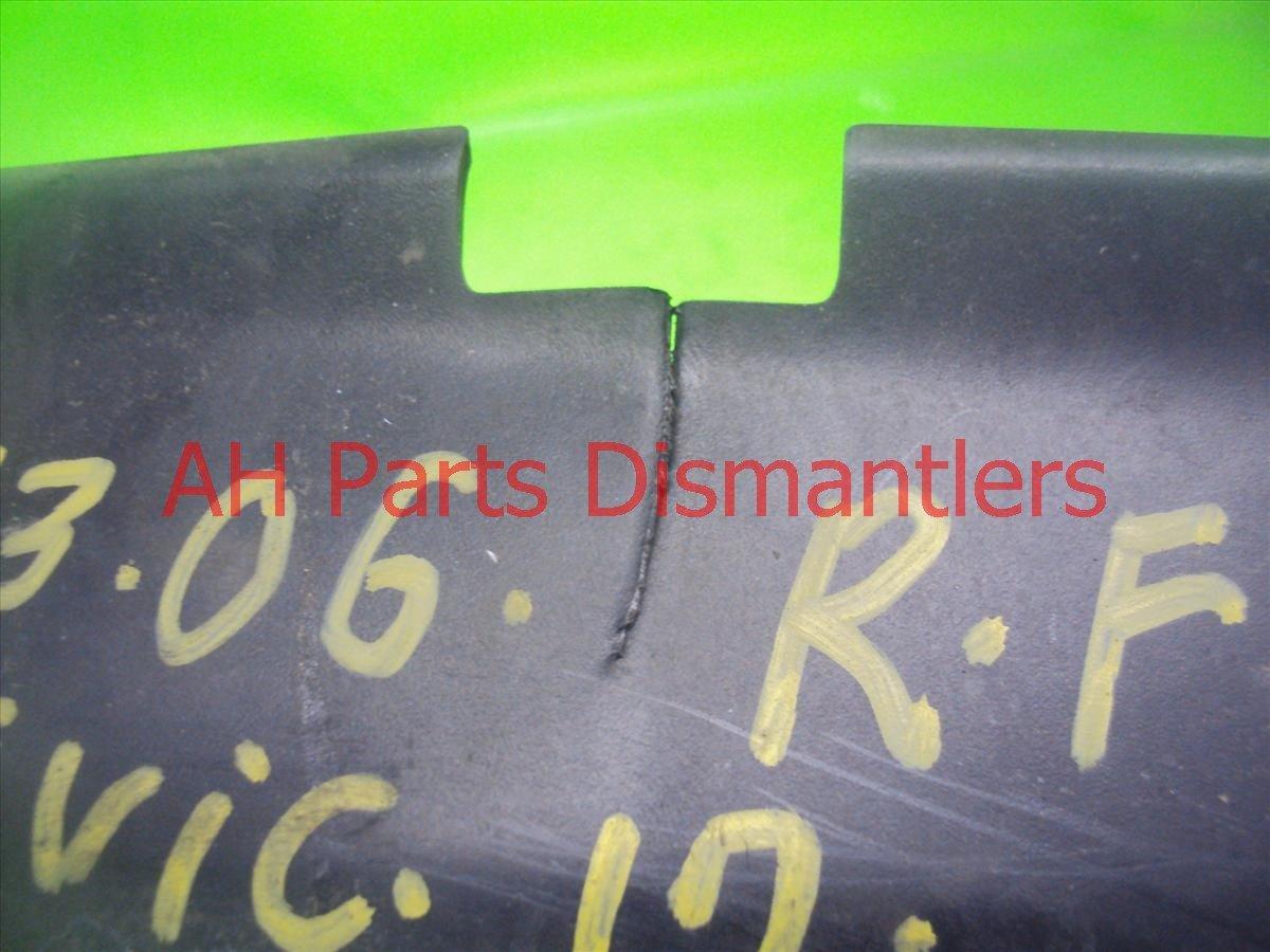 2012 Honda Civic Front Passenger Mud Flap Replacement