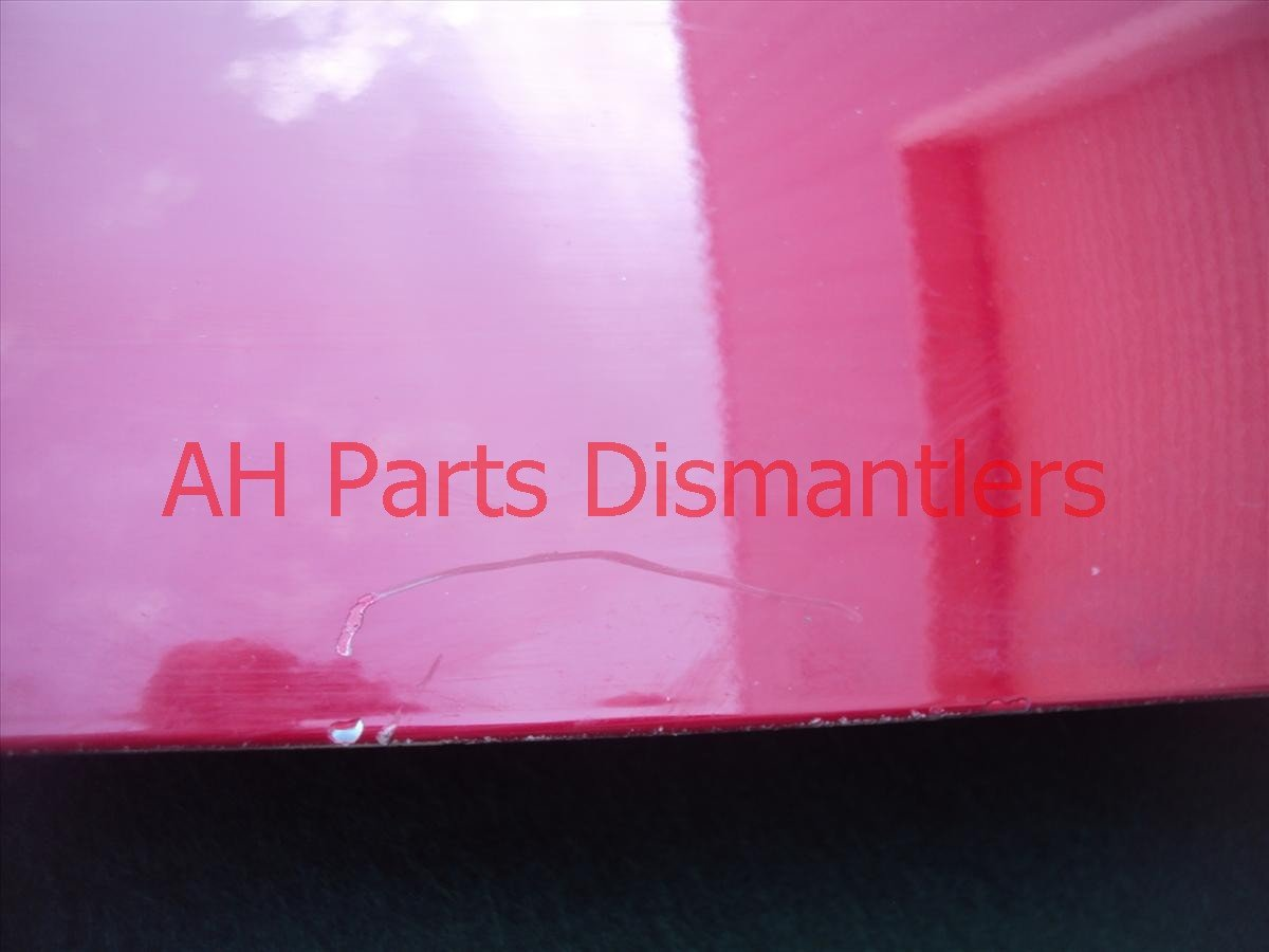 2004 Honda Accord Front DRIVER DOOR CMPLET MIRR TRIM red 32751 SDN A00 32751SDNA00 Replacement