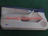 2004 Honda Accord Door Trim / Liner 4dr Front Driver D Panel,tan Leather, switch Replacement