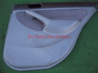 2005 Honda Civic Door trim liner Rear passenger DR PANEL CMPLET gray 83733 S5B A02ZD 83733S5BA02ZD Replacement