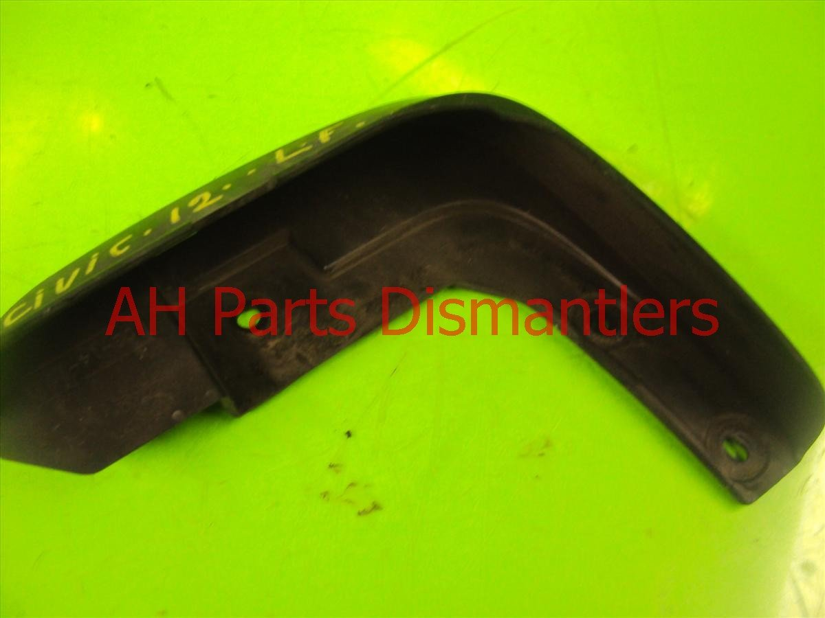 2012 Honda Civic Front Driver Mud Flap Replacement