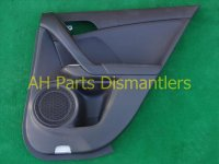 2009 Acura TSX Trim liner Rear passenger DOOR PANEL Blk 83701 TL0 G22ZA 83701TL0G22ZA Replacement