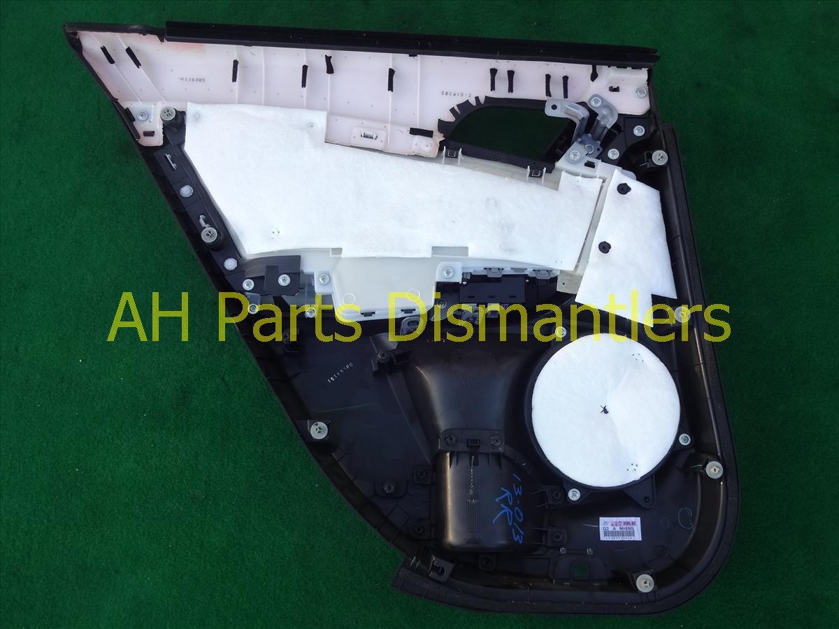 2009 Acura TSX Trim liner Rear passenger DOOR PANEL Blk 83701 TL0 G22ZA 83701TL0G22ZA Replacement