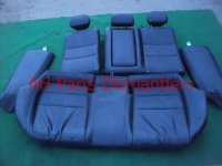2009 Acura TSX Back 2nd row REAR SEATS ASSEMBLY black leather Replacement
