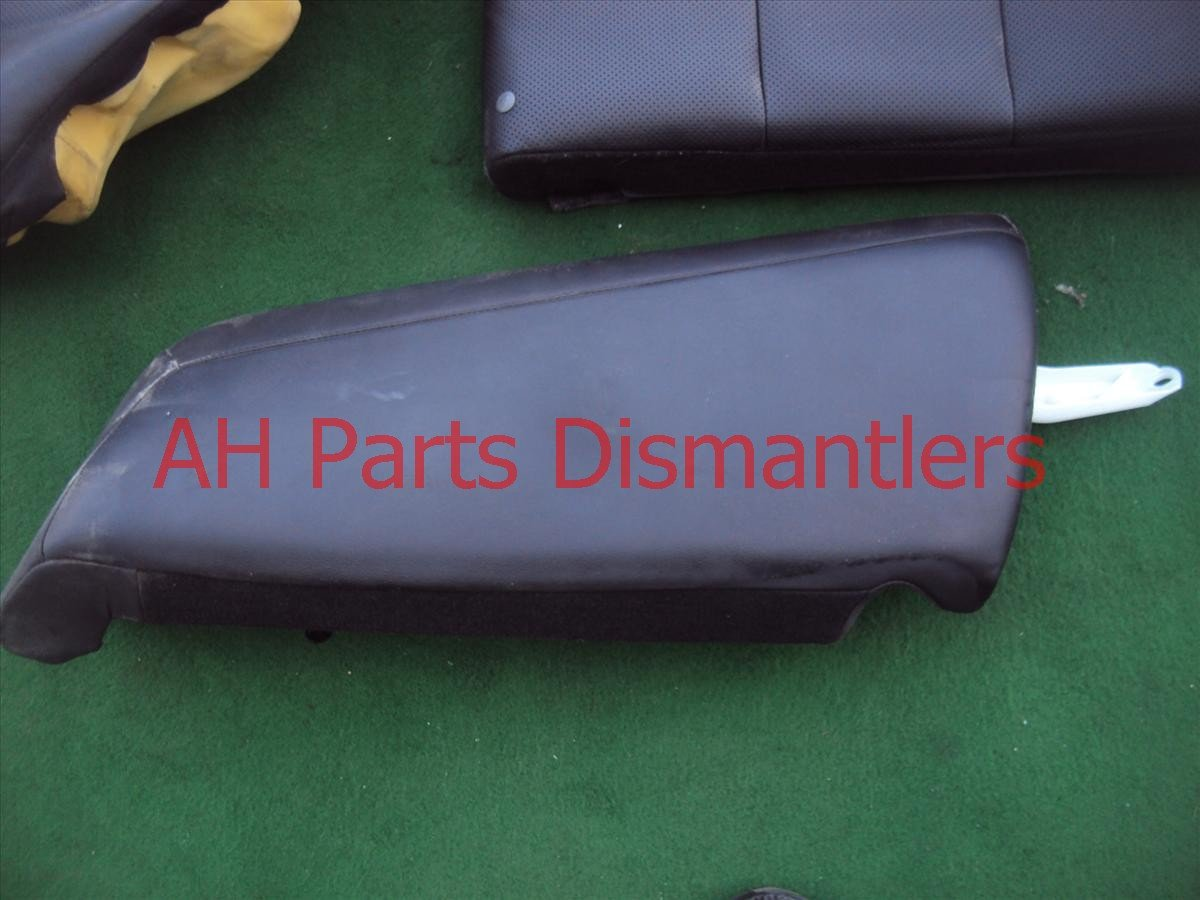 2009 Acura TSX Back (2nd Row) Rear Seats Assembly Black Leather Replacement