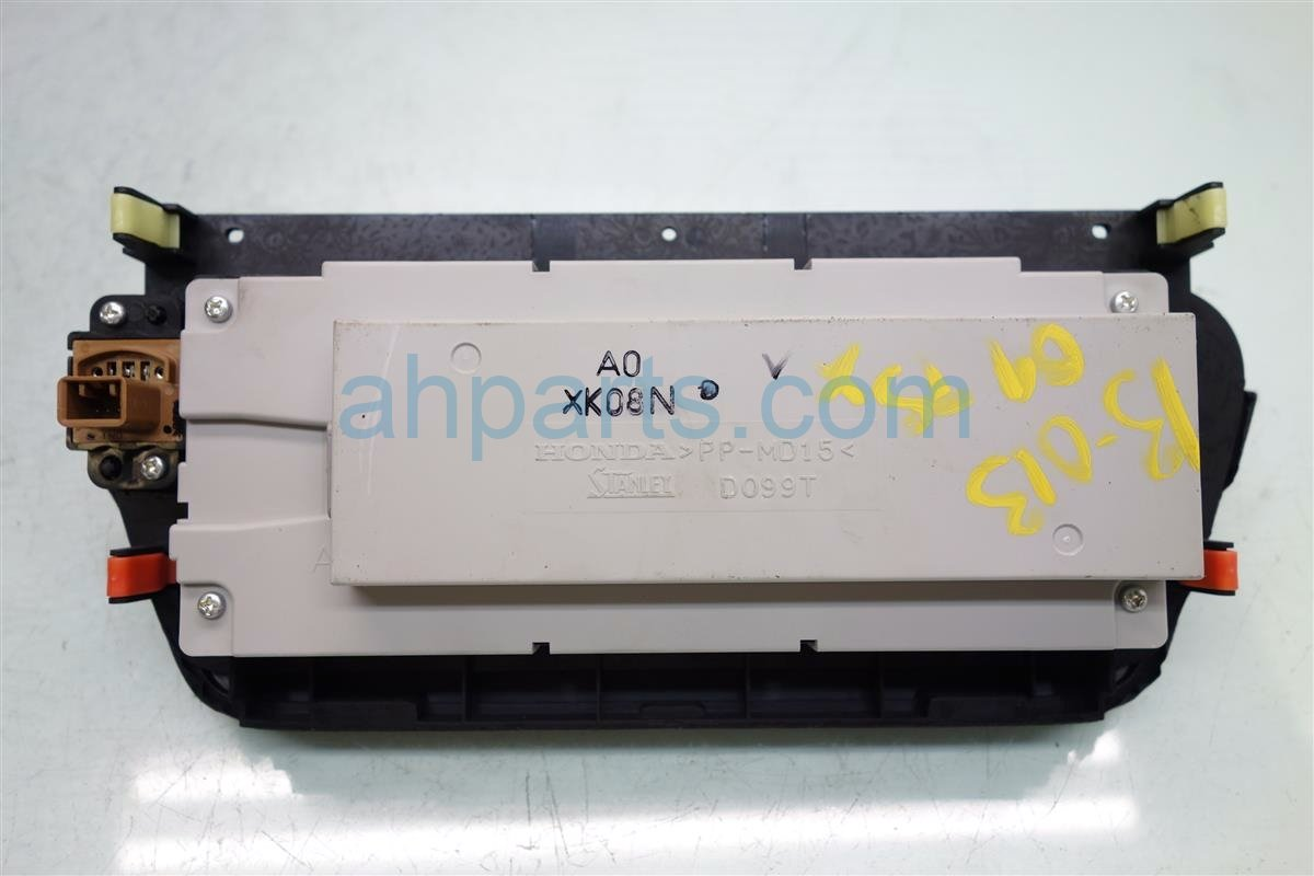 2009 Acura TSX Display Screen 39710 TL2 305 Replacement