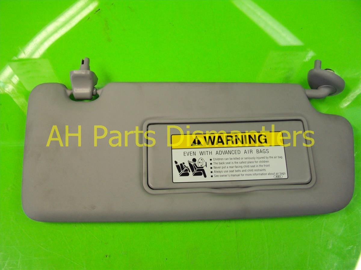 2012 Honda Civic Passenger Sun Visor, Indent 83230 TR0 A01ZA Replacement