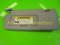 2013 Honda Civic Driver Sun Visor Gray 83280 TR0 A02Z Replacement
