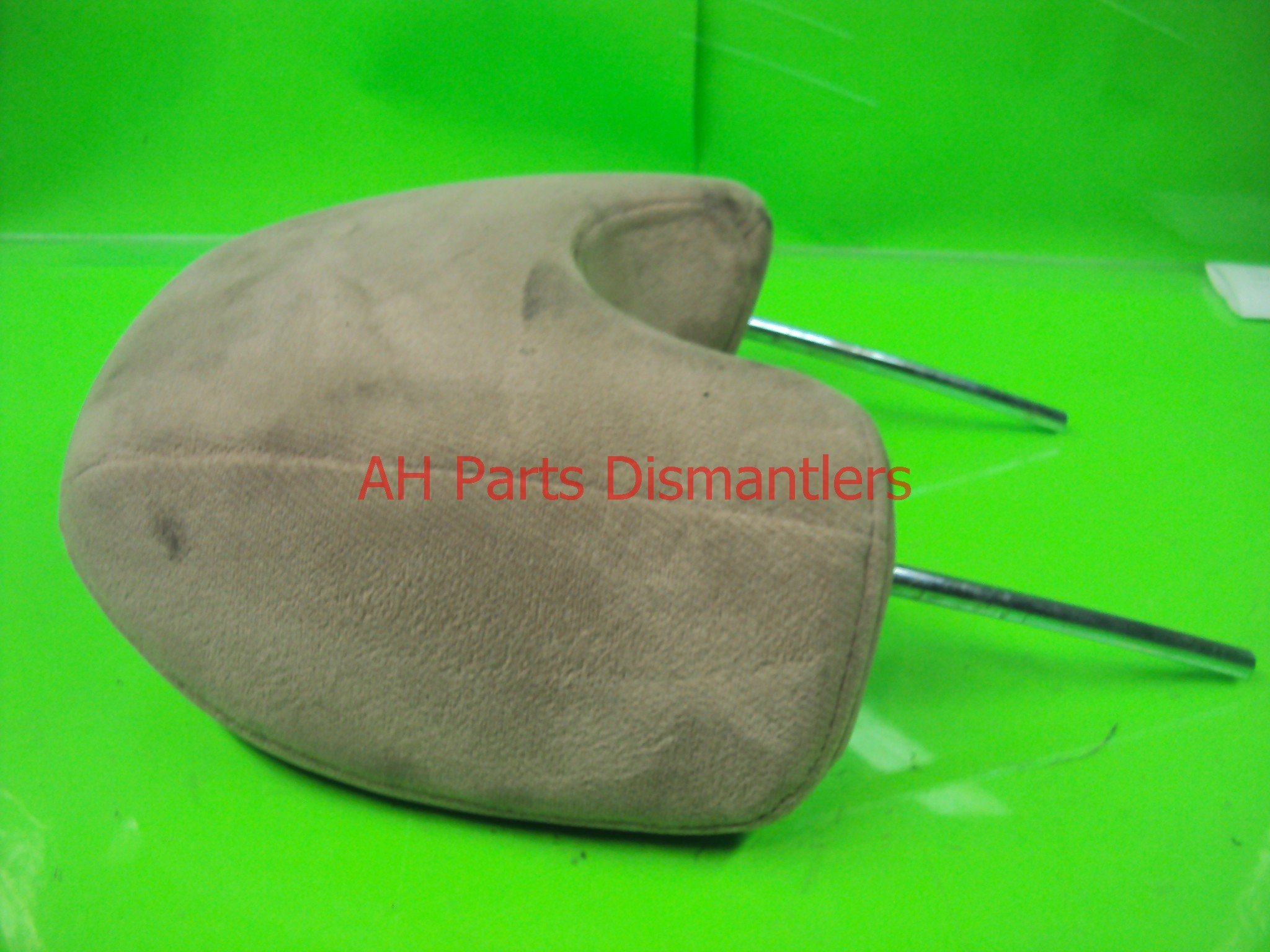 1990 Acura Legend Front passenger HEADREST TAN CLOTH GREASE MAR Replacement