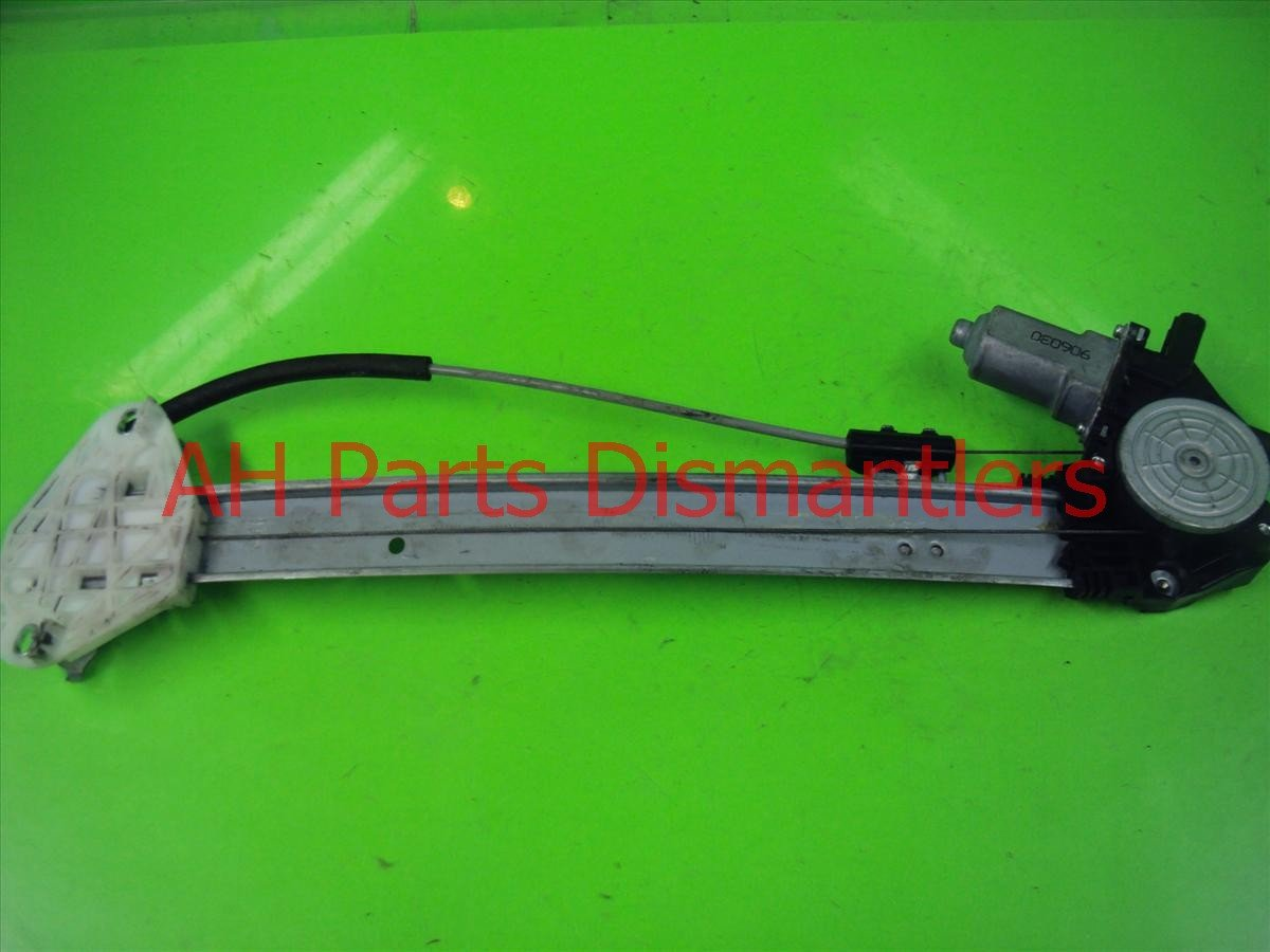 2010 Acura TSX 4DR Rear passenger WINDOW REGULATOR 72710 TL0 013 72710TL0013 Replacement