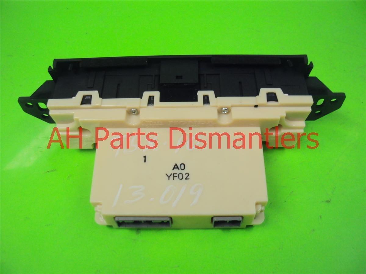 2010 Acura TSX Temperature Climate HEATER AC CONTROL ON DASH 79600 TL2 A01ZA 79600TL2A01ZA Replacement