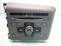 2012 Honda Civic AM FM CD RADIO 39171 TR0 A31 39171TR0A31 Replacement