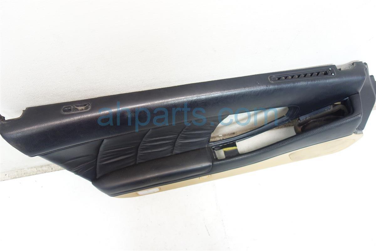 1995 Acura NSX Front trim liner Driver DOOR PANEL BLACK BROWN NICE Replacement