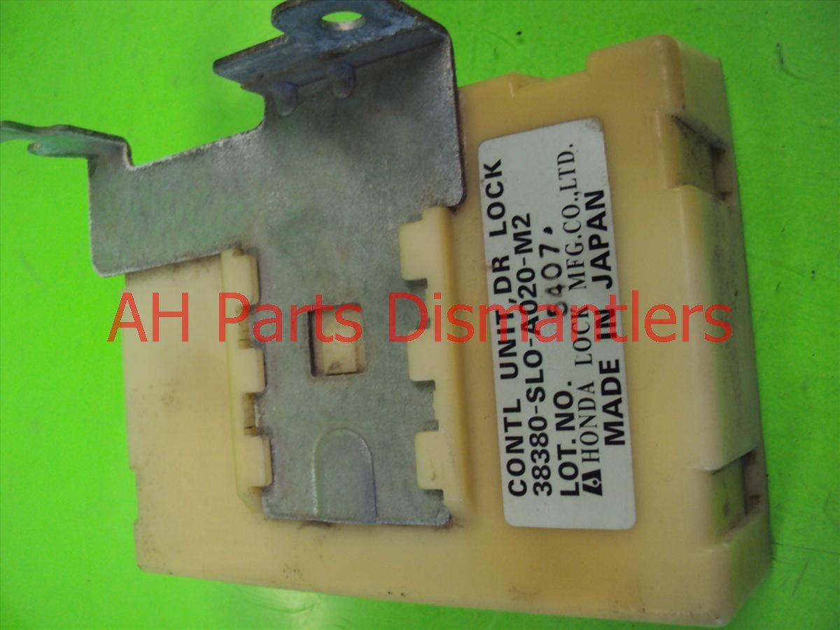 1996 Acura NSX DR LOCK CONTROL UNIT 38380 SL0 A02 38380SL0A02 Replacement