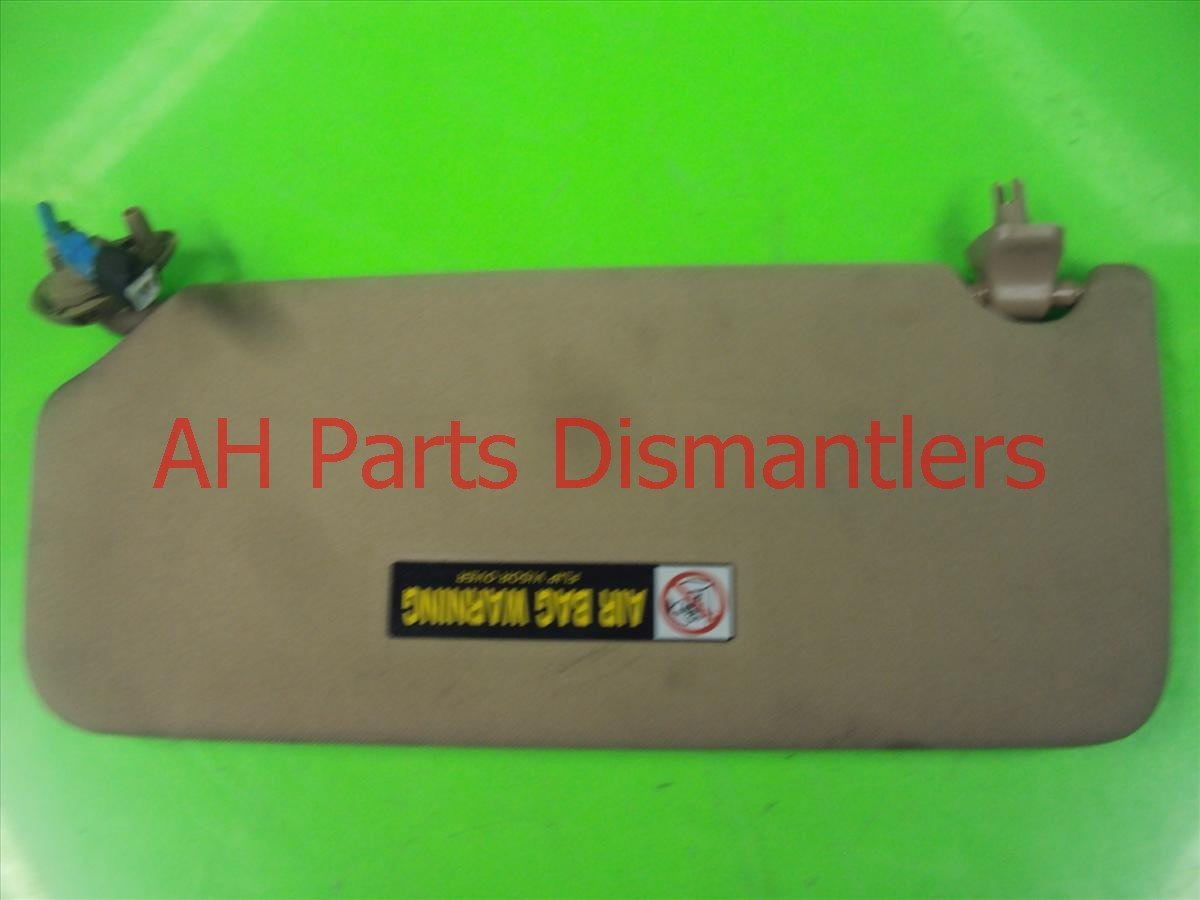 2009 Honda Accord Passenger SUN VISOR Tan Nice 83230 TA0 A91ZB 83230TA0A91ZB Replacement
