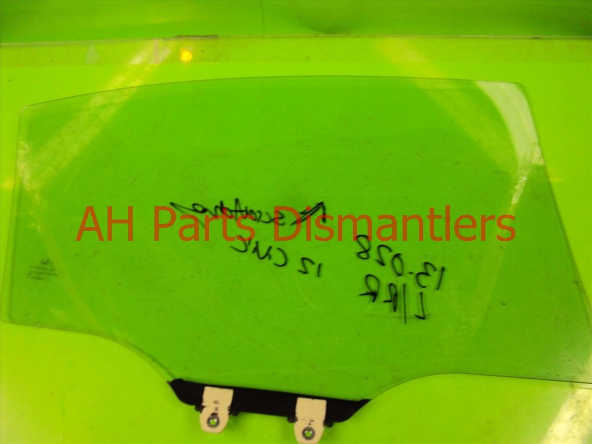 2012 Honda Civic Door Rear driver WINDOW GLASS has scratches 73450 TR3 A00 73450TR3A00 Replacement