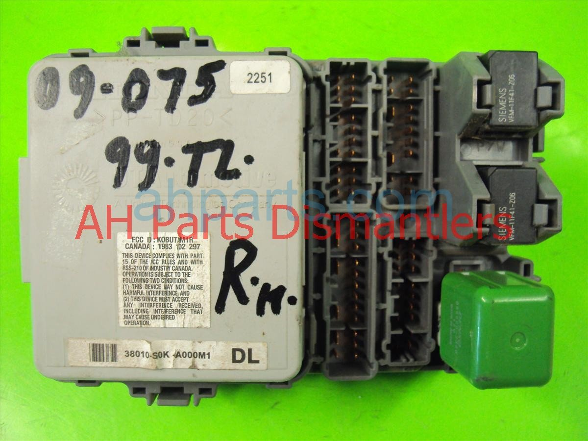 Acura Tl Fuse Box Replacement 2012 Radio 1999 Passenger Dash Rh Ahparts Com 2004 Starter Relay