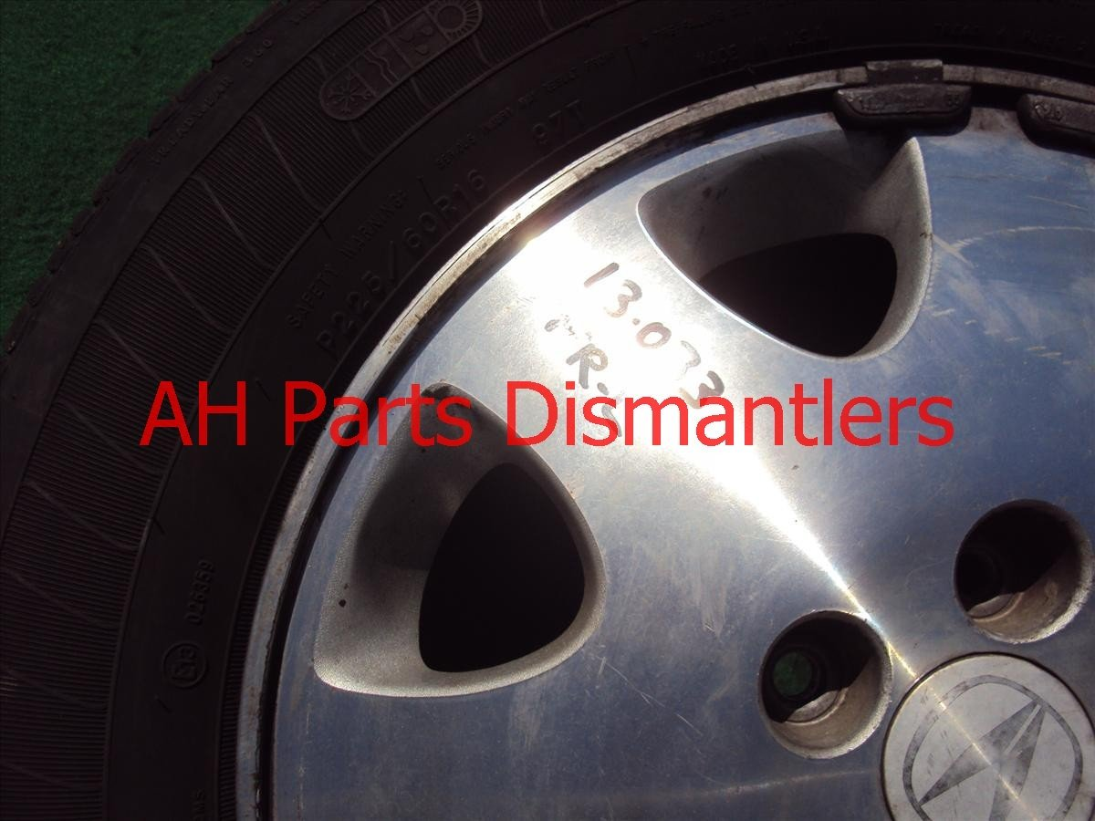 1998 Acura RL Wheel Front driver RIM 42700 SZ3 A30 42700SZ3A30 Replacement
