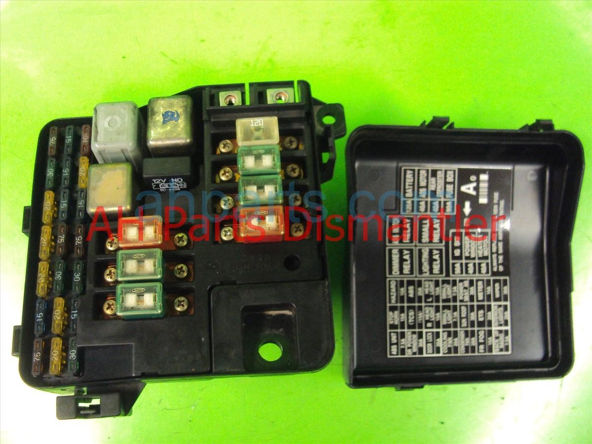 1998 acura rl engine fuse box rh ahparts com acura 3 5 rl fuse box location  2010