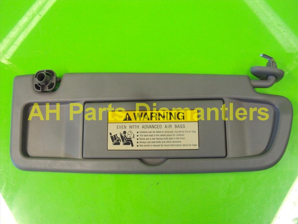 2012 Honda Civic Passenger Sun Visor,gray, Very Nice 83230 TR0 A01Z Replacement