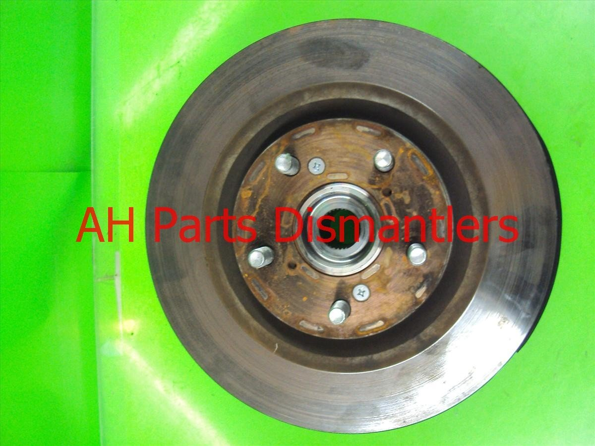 1998 Acura RL Hub Front driver SPINDLE W KNUCKLE Replacement
