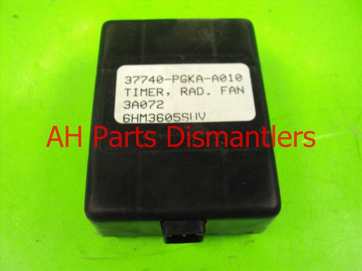 2003 Honda Pilot Rad Fan Timer 37740 PGK A01 Replacement
